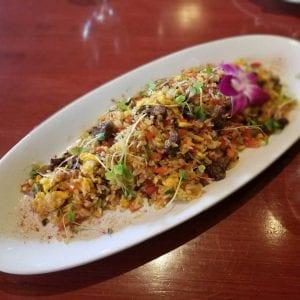 Chaufa Peruano (Peruvian Chinese Rice)